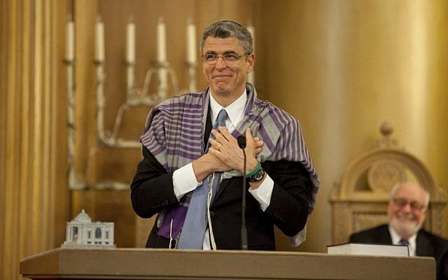 Rabbi Rick Jacobs. (photo credit: Clark Jones, Courtesy the Union for Reform Judaism)