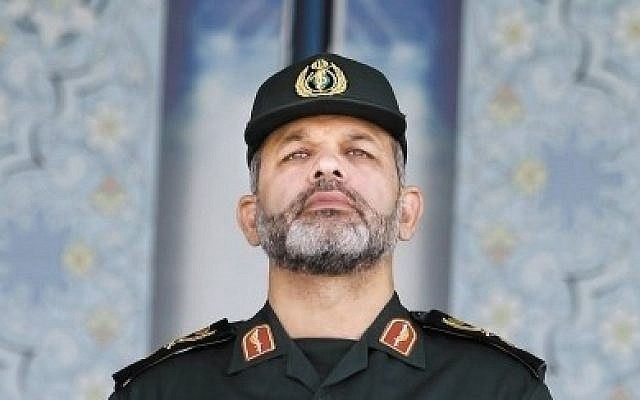 Former Iranian minister of defense Ahmad Vahidi (AP)