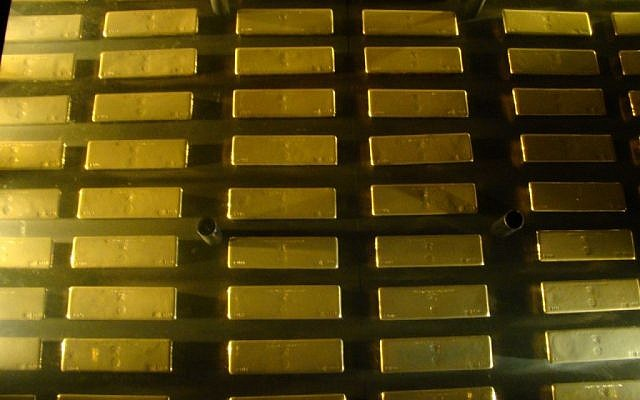 Gold bars (photo credit: CC BY Brian Giesen/Flickr)