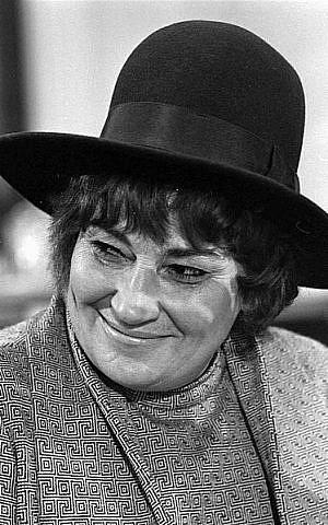 Bella Abzug (photo credit: Wikimedia Commons)