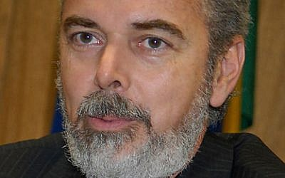 Brazilian Foreign Minister Antonio Patriota (photo credit: CC BY Agência Brasil/Wikimedia Commons)