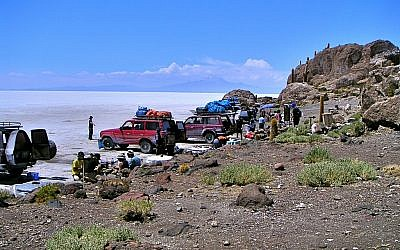 Salar de Uyuni in Bolivia. (photo credit: CC-BY-SA Nouhailler, Flickr)
