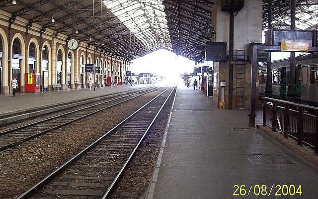 The train station in Toulouse. (photo credit: CC-BY-SA jf1234, Flickr)