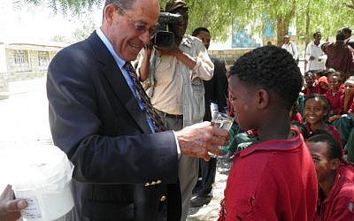 Dr. Zvi Bentwich, a global pioneer in AIDS research, has been to Africa 22 times. (photo credit: Courtesy NALA Foundation)