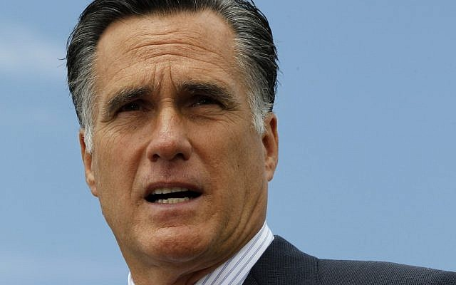 Republican presidential candidate Mitt Romney (photo credit: Charles Dharapak/AP)
