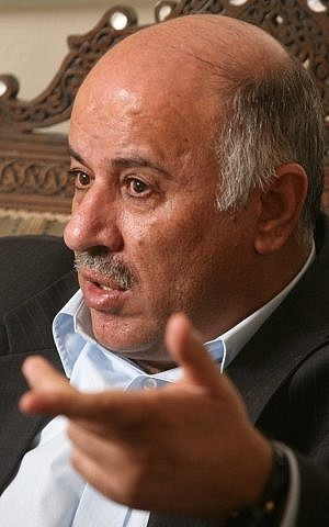 Jibril Rajoub (photo credit: Nati Shohat/Flash90)