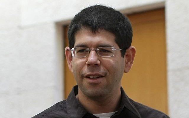 Peace Now head Yariv Oppenheimer (Kobi Gideon/Flash90)