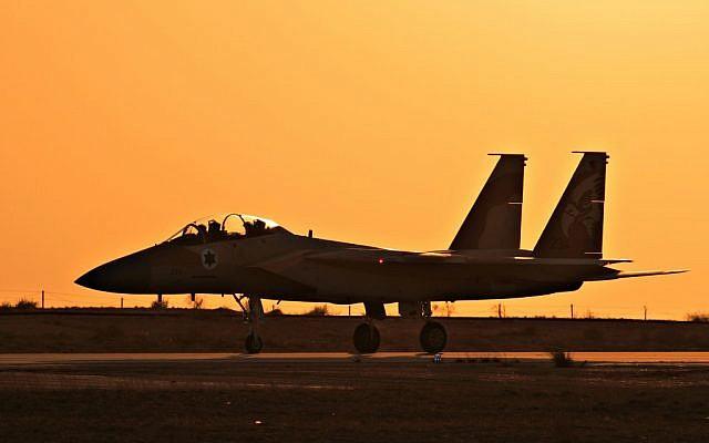 An Israeli F-15I at the Hatzerim Airbase (photo credit: Ofer Zidon/Flash90)