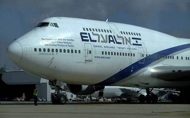 Illustrative photo of an El Al passenger plane (photo credit: Tsahi Ben-Ami/Flash90/File)