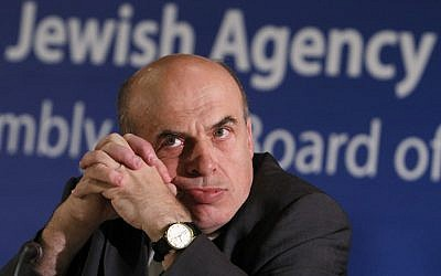 Jewish Agency Chairman Natan Sharansky (photo credit: Miriam Alster/Flash90)