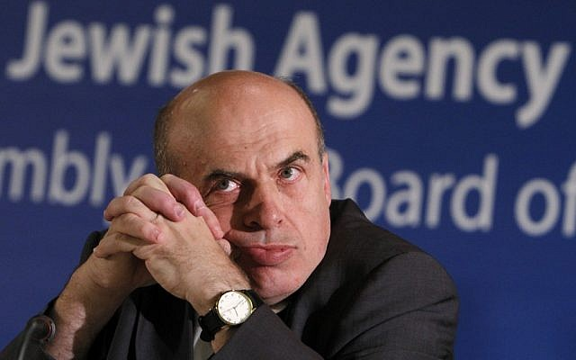 Jewish Agency Chairman Natan Sharansky (photo credit: Miriam Alster/Flash90)