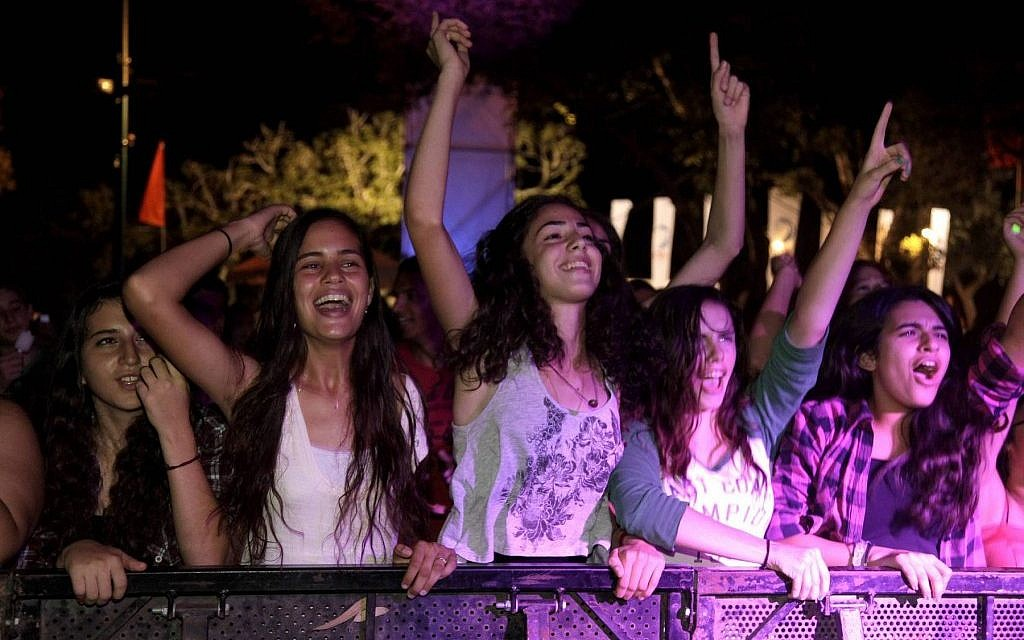 Last year's Briza festival, attended by more than 5,000 people (photo credit: Edi Israel/Flash 90)
