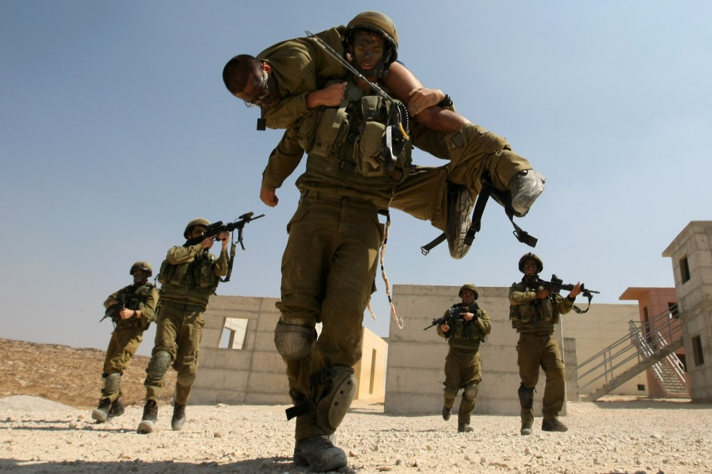 Troops sprayed instead of locusts | The Times of Israel