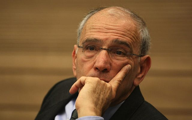 Moshe Lador at the Knesset in February. 2012 (Kobi Gideon / Flash90)