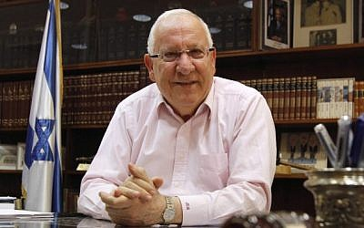 President-elect Reuven Rivlin (photo credit: Miriam Alster/Flash90)