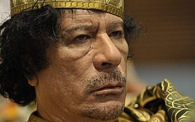 The late Col. Muammar Gaddafi (Jesse B. Awalt/Wikimedia Commons)