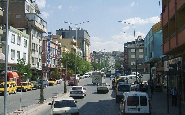 The city of Gaziantep (photo credit: CC-BY-SA Annette von Spiegel/Wikipedia)