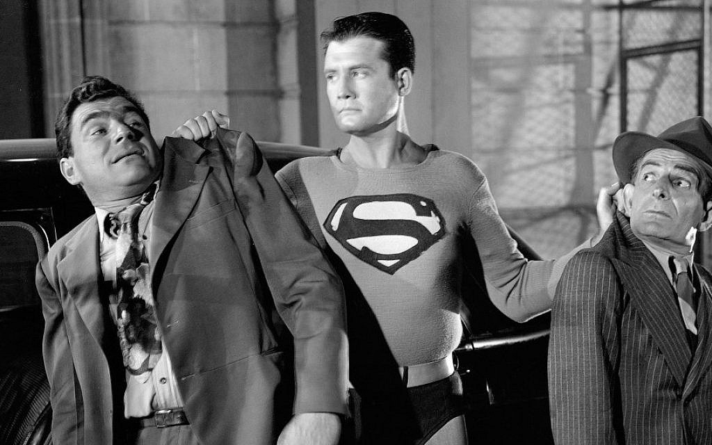 George Reeves as Superman. (photo credit: courtesy)