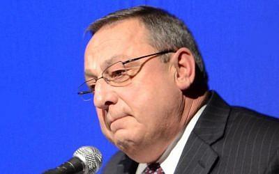 Maine Governor Paul LePage (Photo credit: Matt Gagnon, via wikipedia)