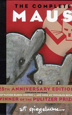 'Maus' 25th anniversary edition. (photo credit: Courtesy Pantheon & Schocken Books)