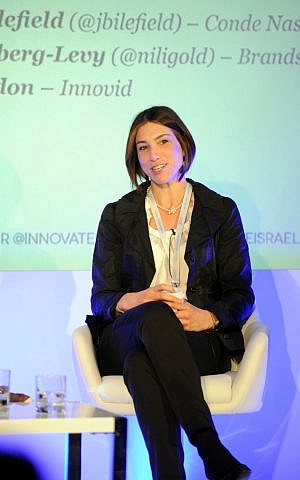 CEO of Israeli startup Brandsforce, Nili Goldberg. (photo credit: Blake Ezra Photography)