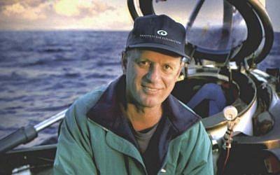 Ocean explorer Robert Ballard (photo credit: CC BY Wikipedia)