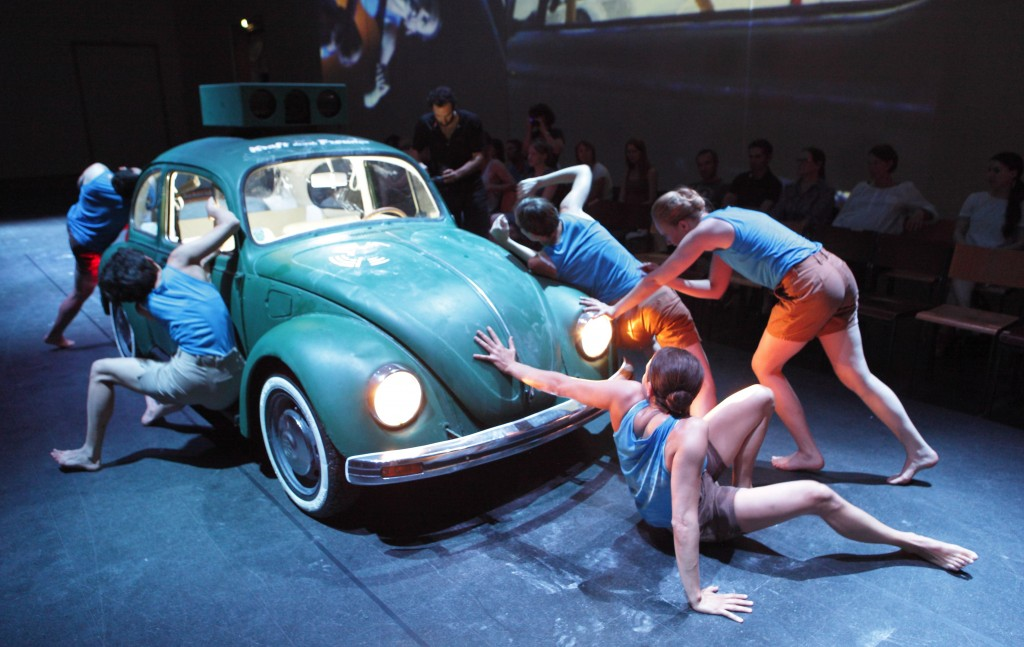 A VW bug in 'Hacking Wagner.' (Photo credit: © Wilfried Hösl)