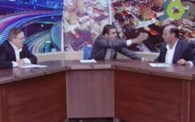 Jordanian MP pulls a gun on his critic during live TV debate | The