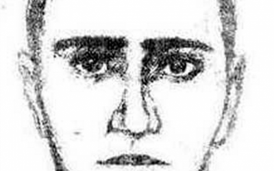 Artist's sketch of a man believed by Bulgarian authorities to have assisted the Burgas bomber.  (photo credit: screen capture)