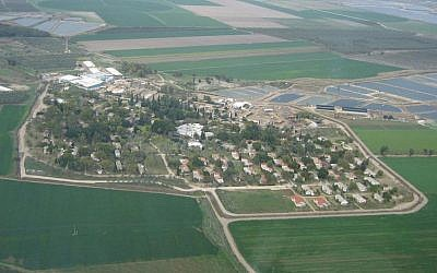 Kibbutz Tirat Tzvi (photo credit: CC BY-Wikipedia)