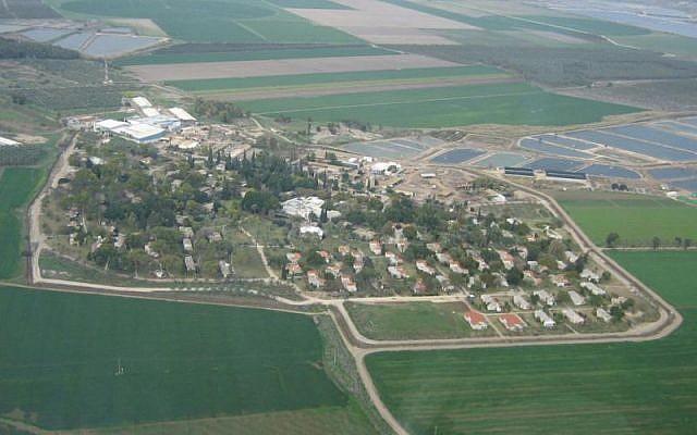 Kibbutz Tirat Tzvi (photo credit: CC BY Wikipedia)