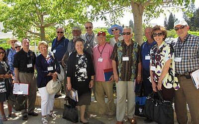 Project Interchange's US university presidents' delegation to Israel (photo credit: Courtesy)
