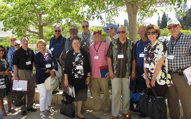 Project Interchange's US university presidents' delegation to Israel (photo credit: Courtesy)