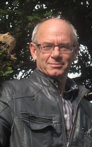 Ahron Bregman at his London home, July 2012 (photo credit: courtesy/Adam J. Bregman)