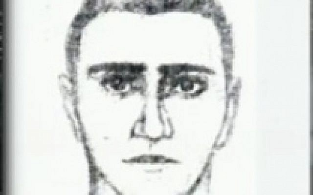 Artist's sketch of man said to have helped Burgas bomber (photo credit: Channel 2 screen capture)