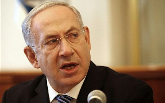 Israeli Prime Minister Benjamin Netanyahu. (photo credit: AP/Gali Tbbon, Pool)