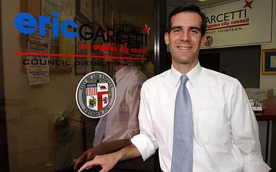 Los Angeles city council member Eric Garcetti. (photo credit: Courtesy)