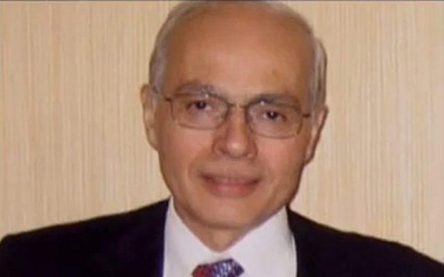 "Ashraf Marwan. (Screenshot from ""The Israeli Connection,"" via YouTube)"