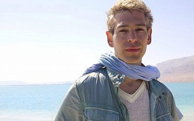 Matisyahu on a visit to Israel. (photo credit: courtesy)