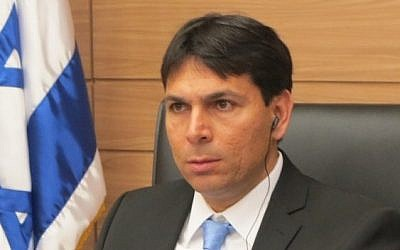German Ambassador Andreas Michaelis, right, and MK Danny Danon (photo credit: courtesy Knesset)