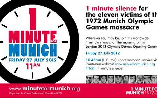 Minute for Munich
