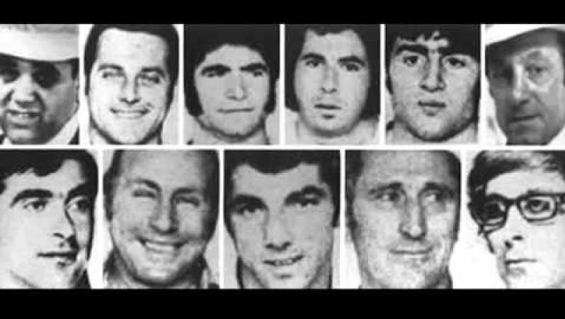 The 11 Israeli Munich victims.