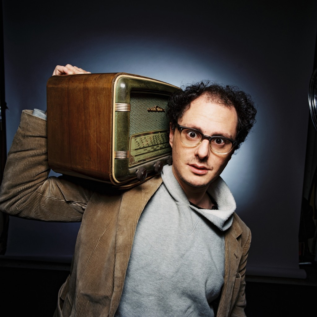 Canadian rapper and producer Socalled. (photo credit: Courtesy)