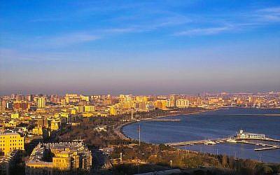 Baku, the capital of energy-rich Azerbaijan (photo credit: CC BY David Davidson/Flikr)