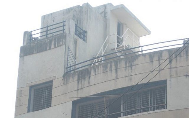 The Nariman House in Mumbai, a few weeks after the 2008 terror attacks (photo credit: CC BY Nichalp/Wikipedia)