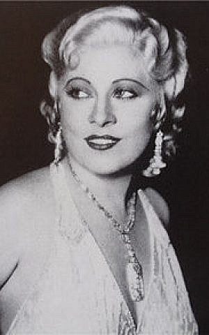 Mae West (photo credit: Wikimedia Commons)