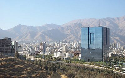Tehran (photo credit: CC BY-SA/Ensie & Matthias/Flickr)