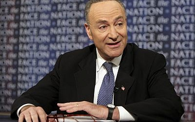 Sen. Chuck Schumer (D-NY). (Photo credit: AP/CBS Face the Nation, Karin Cooper)