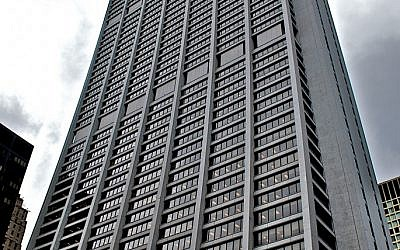 Chase Tower in Chicago is the bank's corporate headquarters (photo credit: Courtesy Monika Thorpe/Wiki Commons)