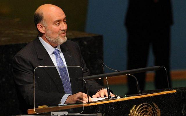 Israel's ambassador to the UN Ron Prosor (photo credit: Courtesy)